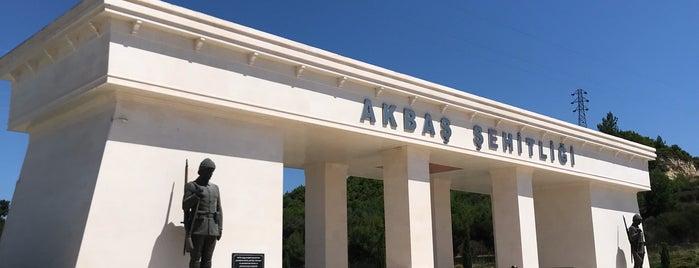 Akbaş Şehitliği is one of Posti che sono piaciuti a Aylin.