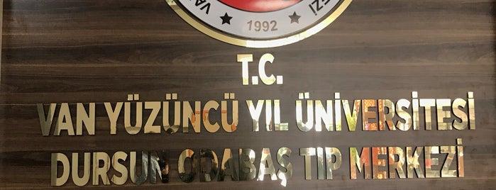 Van 100. Yıl Üniversitesi Tıp Fakültesi Araştırma Hastanesi is one of Posti che sono piaciuti a Aylin.