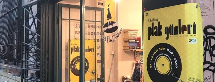 Küçük Plak Dükkanı is one of Aylin : понравившиеся места.
