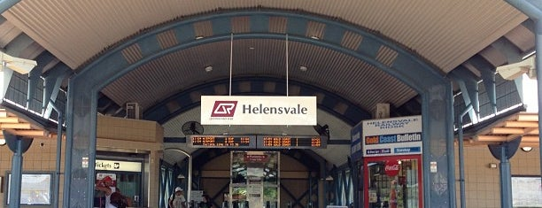 Helensvale Railway Station is one of [todo] Gold Coast.