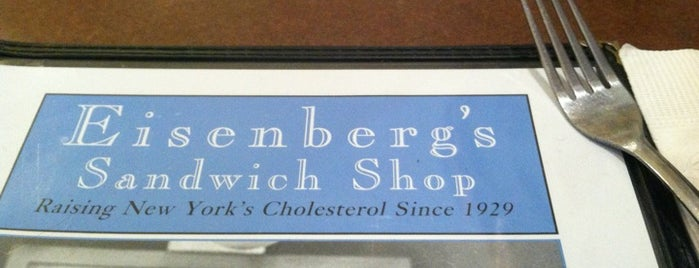 Eisenberg's Sandwich Shop is one of New York.