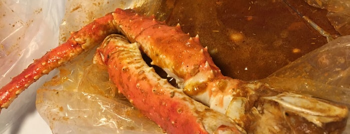Hot N Juicy Crawfish is one of Bobbieさんのお気に入りスポット.