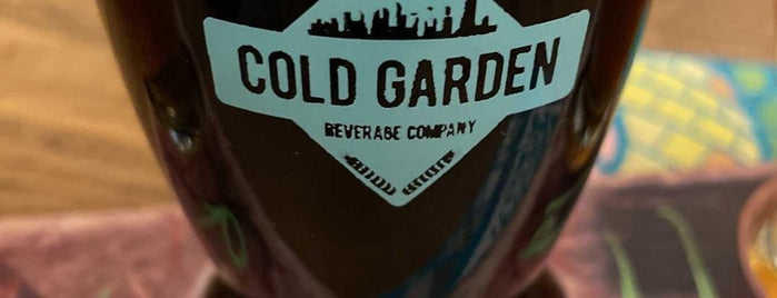 Cold Garden Beverage Company is one of Alberta.