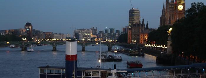 Thames Path is one of Kim's London Favs & Wishlist.