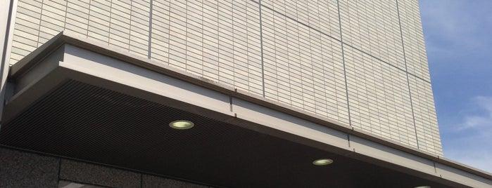 南都銀行 木津支店 is one of Lieux qui ont plu à Shigeo.