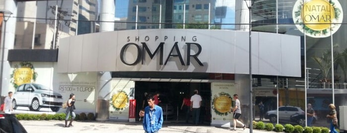 Shopping Omar is one of Locais favoritos.