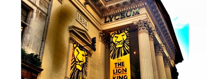 Lyceum Theatre is one of London.