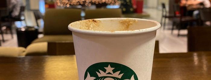 Starbucks is one of Tempat yang Disukai Leonel.