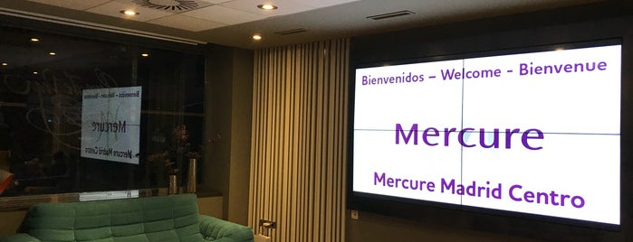 Mercure Madrid Centro is one of Madrid.