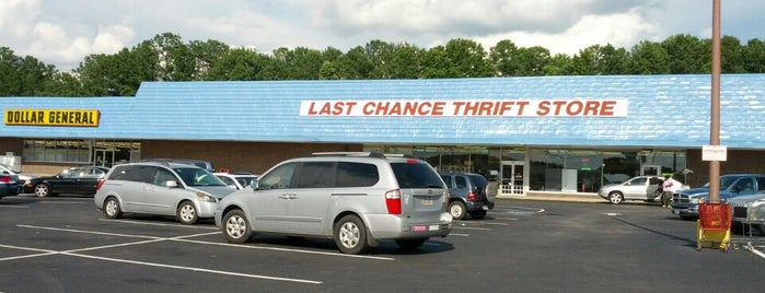 Last Chance Thrift Store is one of Thrifting Spots in the Southeast.