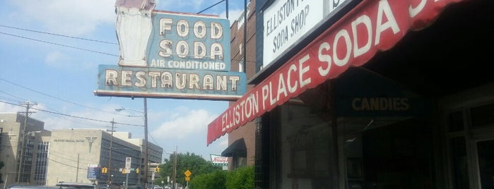 Elliston Place Soda Shop is one of Nashville.