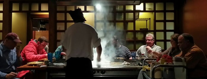 Kabuto Japanese Steak Seafood and Sushi is one of Lisaさんのお気に入りスポット.
