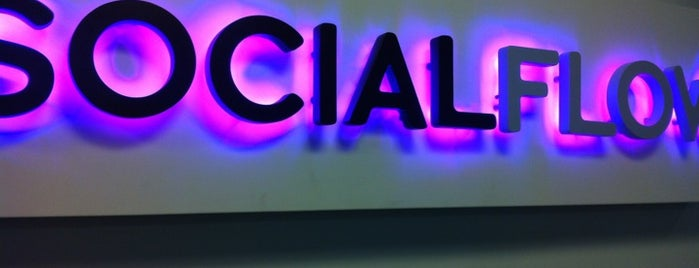 SocialFlow is one of Silicon Alley, NYC (List #2).