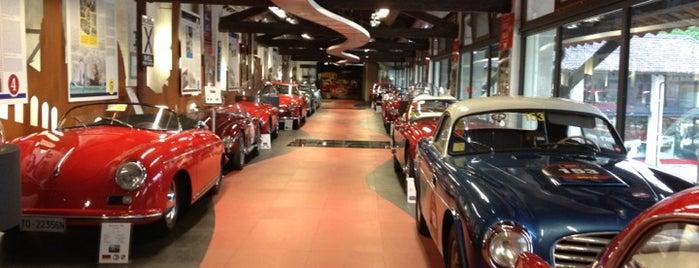 Museo Mille Miglia is one of สถานที่ที่ Tomek ถูกใจ.