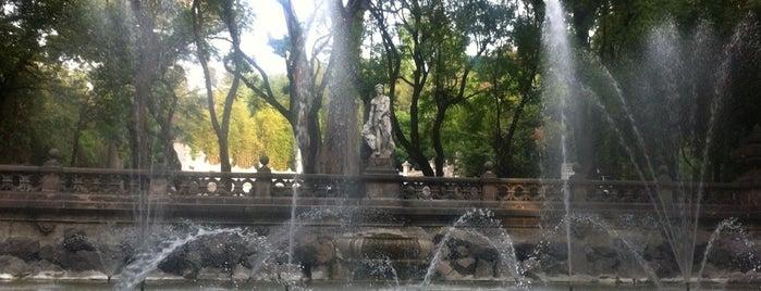Fuente de la templanza is one of CDMX.