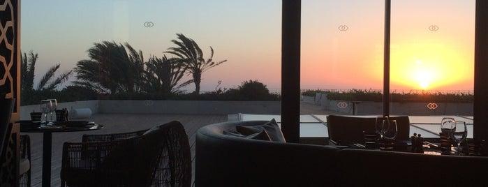 L'Atelier aux Arômes at Sofitel Essaouira Mogador Golf & Spa is one of Tempat yang Disukai Semrouni.