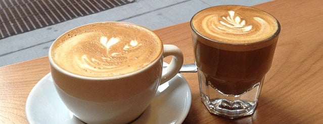 Blue Spoon Coffee Co. is one of NYC to check out....