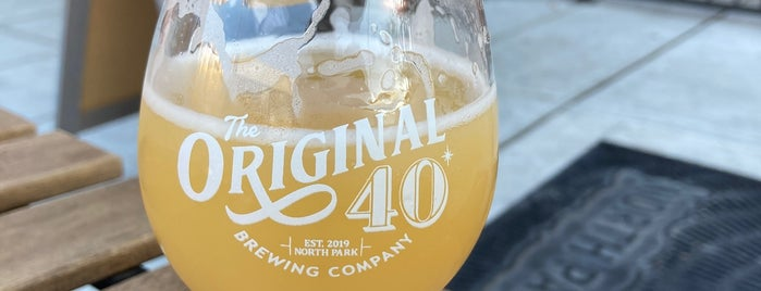Original 40 is one of San Diego Breweries.