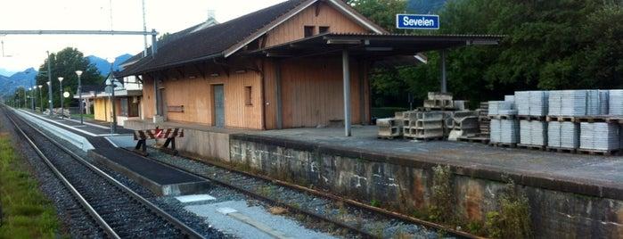 Bahnhof Sevelen is one of Tempat yang Disukai Henry.