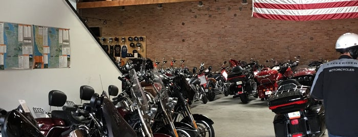 Eaglerider Motorcycle Rental is one of Outsidelands.