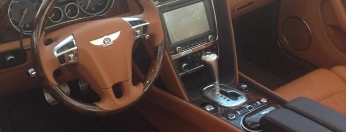 Bentley is one of Maria: сохраненные места.