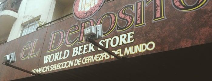 El Depósito World Beer Store is one of Ciudad de México.