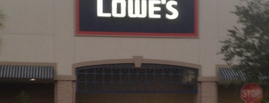 Lowe's is one of Christopher's Liked Places.