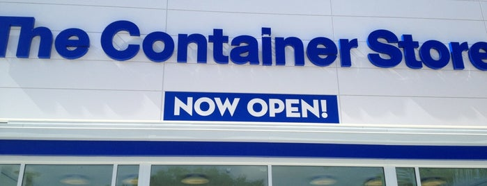 The Container Store is one of 'round home.