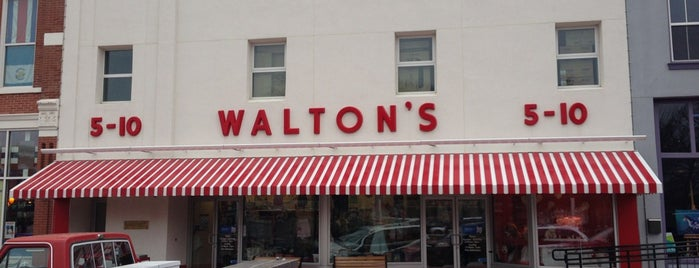 Waltons Five and Dime is one of May Road Trip.