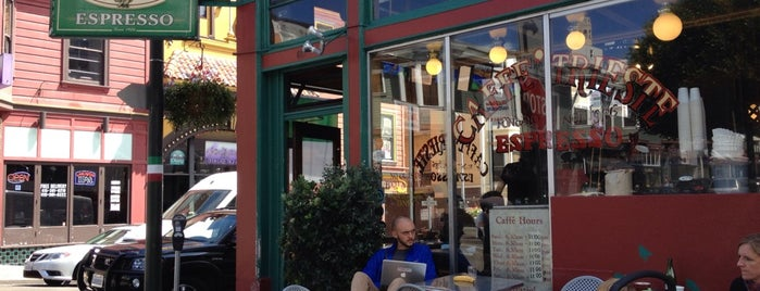 Caffe Trieste is one of San Francisco Caffeine Crawl.