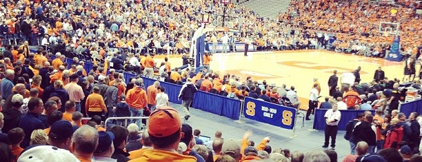 Carrier Dome is one of Venues....