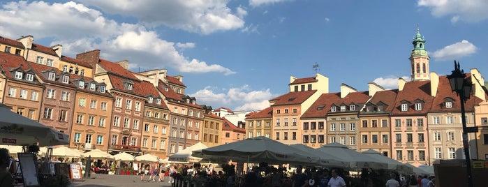 Rynek Starego Miasta is one of Posti che sono piaciuti a Mina.
