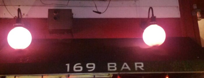 169 Bar is one of Drinkup - Monday's a Holiday!.