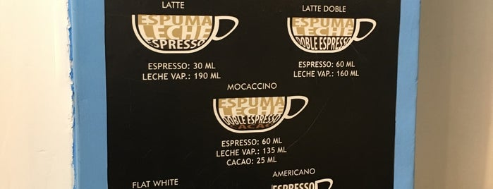 Santa Café is one of Reductos de cafe.