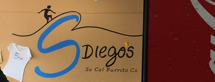 S Diego's So Cal Burritos is one of Grace's Saved Places.
