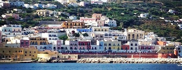 Ponza is one of capri.