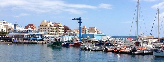Marina del Sur Tenerife.  Puerto Deportivo de Las Galletas is one of Islas Canarias: Tenerife.