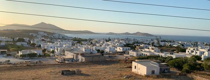 Ματζουράνα is one of Paros.