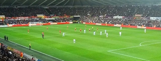 Liberty Stadium is one of Big Matchs's Today!.