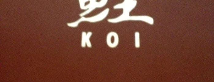 Koi is one of Meine Favoriten!.