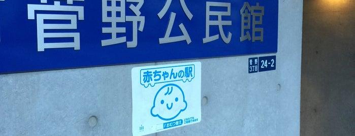 市川市菅野公民館 is one of Funabashi・Ichikawa・Urayasu.