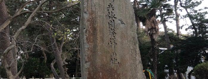 習志野騎兵旅団発祥の地(司令部跡) is one of 西郷どんゆかりのスポット.