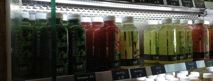 Kreation Juicery is one of Karen's Saved Places.