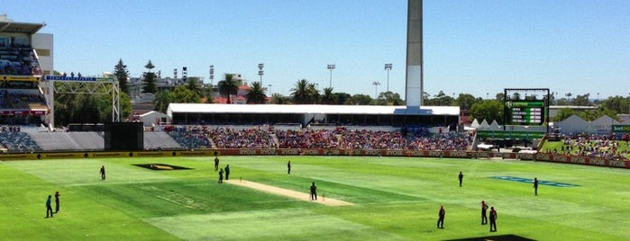 WACA is one of Perth 2017.
