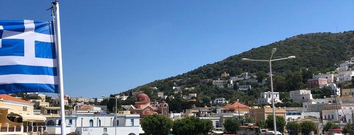Port Leros is one of Lugares favoritos de sibel bakırcı özkoçan.