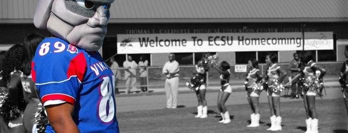 Elizabeth City State University is one of North Carolina.