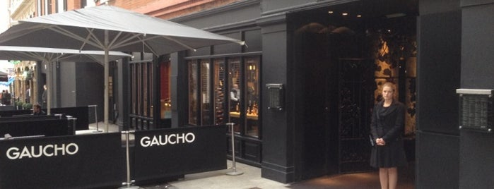 Gaucho is one of LONDON.
