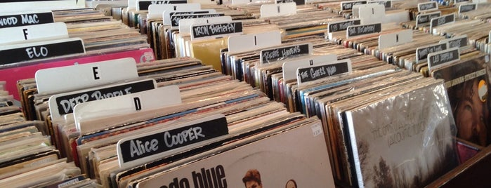 The Groove is one of Record Stores.