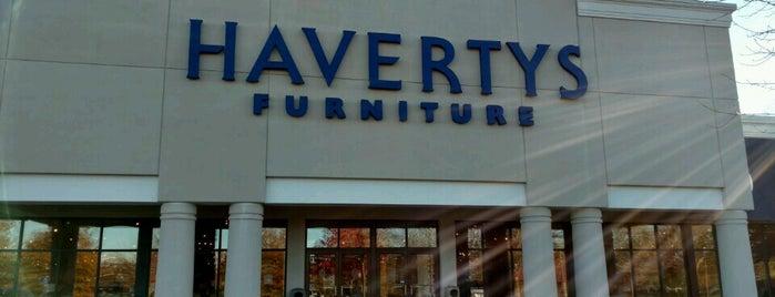 Havertys Furniture is one of Lieux sauvegardés par MIA Mobili.