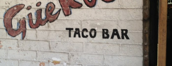 Güero's Taco Bar is one of SXSW: The Travellers' Guide.